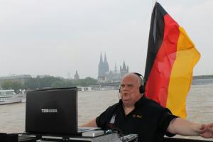Geburtstagsparty auf dem Rhein !